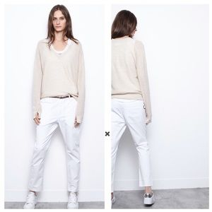 Zadig And Voltaire Apple Ba Cream Alpaca Sweater